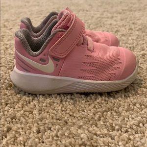 Pink & Gray Nikes